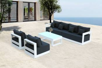 Babmar - Lusso Long Sofa With Armless Middles - Image 2