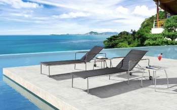 Shop By Category - Outdoor Chaise Lounges - Babmar - Hera Chaise Lounge