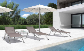 Shop By Category - Outdoor Chaise Lounges - Babmar - Poseidon Chaise Lounge