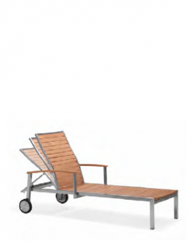 Sunny Chaise Lounge With Arms