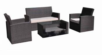 Babmar - Palomino Loveseat Sofa Set with two club chairs