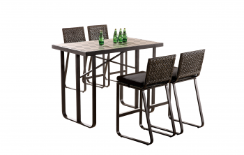 Shop By Category - Outdoor Bar Sets - Polo Bar Set for 4