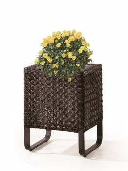 Accessories - Woven Planters - Polo Short Square Flower Vase