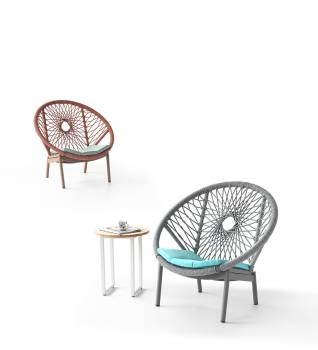 Babmar - Seattle Round Club Chair
