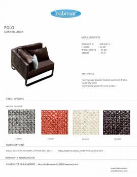 Polo Sectional Sofa Set - Image 2