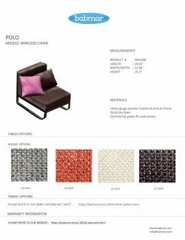 Polo Sectional Sofa Set - Image 4