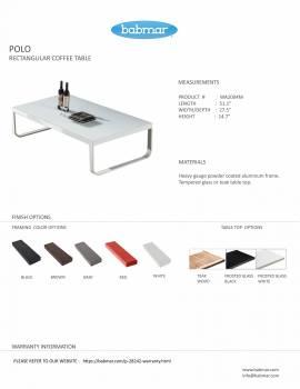 Polo Sofa Set with Bench - Image 5