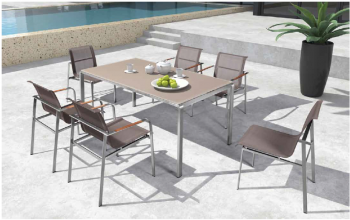 Babmar - Myrna Dining Set For 6