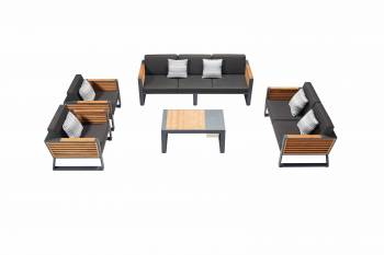 Shop By Collection - Avant Collection - Babmar -  AVANT SOFA SET WITH LOVESEAT