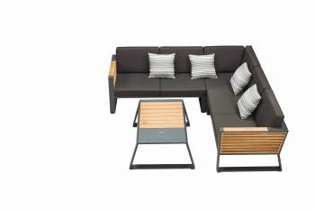 "Shop By Category - Outdoor Seating Sets - Babmar - Avant ""L"" Shape Sectional Set"