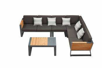 "Shop By Collection - Avant Collection - Babmar - Avant Six Seater ""L"" Shape Sectional Set"