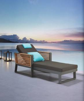 Shop By Collection - Avant Collection - Babmar - AVANT CHAISE LOUNGE
