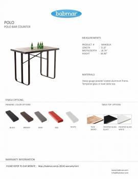 Polo Bar Set for 4 - Image 3