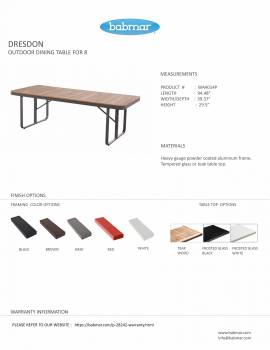 Polo Dining Table for 8 - Image 2