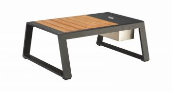 Individual Pieces - Babmar - AVANT RECTANGULAR COFFEE TABLE WITH COOLER