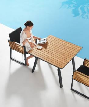 Shop By Collection - Avant Collection - Babmar - AVANT DINING TABLE FOR 4