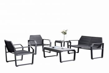 Shop By Category - Outdoor Seating Sets - Babmar - Alpha Loveseat Set