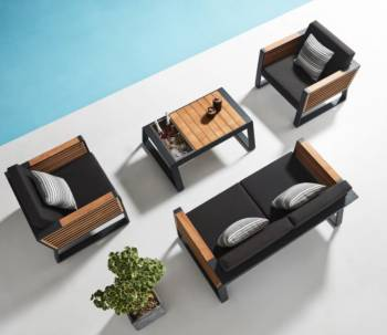 Shop By Category - Outdoor Seating Sets - Babmar - AVANT LOVESEAT SET