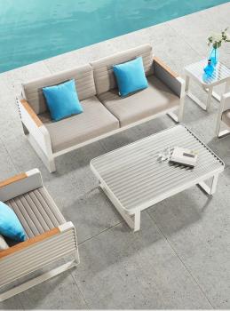 Babmar - Chrome Sofa Set - Image 2