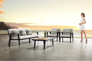 Shop By Category - Outdoor Seating Sets - Babmar - Onyx Sofa Set