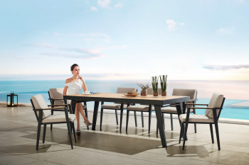 Shop By Category - Babmar - Onyx Dining Set For 8