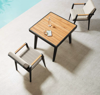 Babmar - Onyx Dining Set For 2