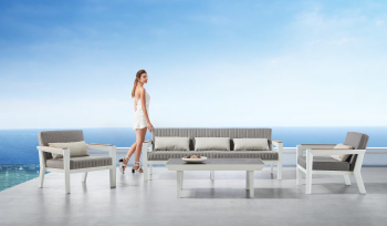 Shop By Category - Outdoor Seating Sets - Babmar - Serene Sofa Set