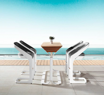 Shop By Category - Outdoor Bar Sets - Babmar - Pininfarina Bar Set For 4