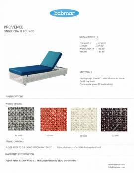 Provence Single Chaise Lounge - Image 2