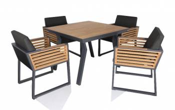 Shop By Category - Outdoor Dining Sets - Babmar - AVANT DINING SET FOR 4