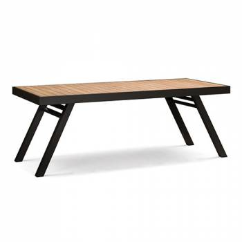 Individual Pieces - Dining Tables - Babmar - Avant Dining Table For 6 (Straight Legs)