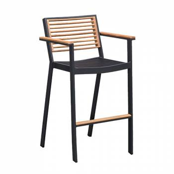 Individual Pieces - Babmar - Avant Bar Stool With Arms