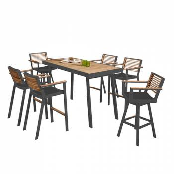 Shop By Category - Outdoor Bar Sets - Babmar - Avant Bar Set For 6