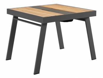 Individual Pieces - Dining Tables - Babmar - Avant Dining Table For 4 With Storage (Straight Legs)