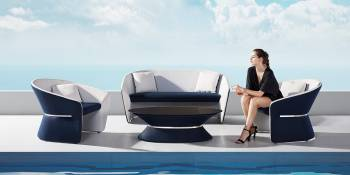 Shop By Collection - Spa Collection - Spa Loveseat Set by Pininfarina