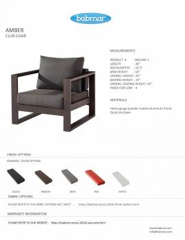 Amber Club Chair - QUICK SHIP - Image 2