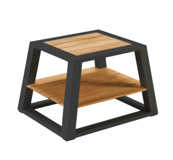 Individual Pieces - Coffee Tables, Side Tables And Ottomans - Mykonos Side Table - QUICK SHIP