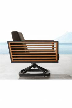 Individual Pieces - Babmar - AVANT SWIVEL CLUB CHAIR