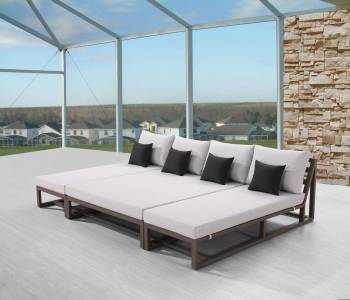 TribecaModular Chaise Lounge Sectional for 4 - Image 2