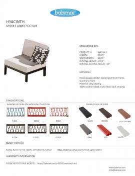 Hyacinth Sofa Set for 6 - Image 5