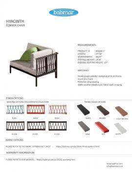Hyacinth Sofa Set for 6 - Image 7