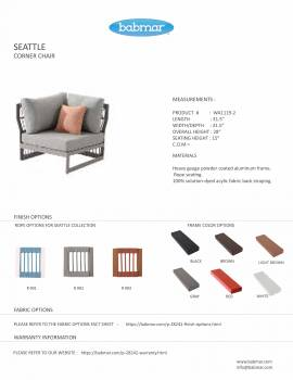 Seattle Sectional Set With Built-In Side Table - Image 6