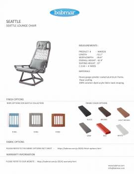 Seattle Lounge Chair - Image 4