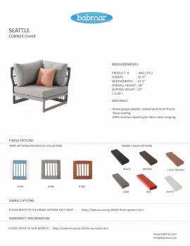 Seattle Corner Chair - Image 2