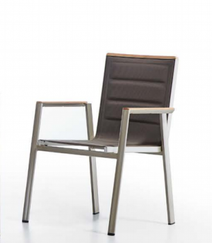 Shop By Collection - Geneve Collection - Geneve Dining Chair With Arms - QUICK SHIP