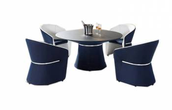Shop By Collection - Spa Collection - Spa Dining Set for 4 by Pininfarina