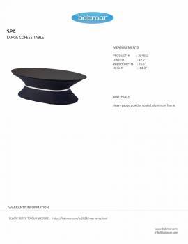 Spa Large Coffee Table by Pininfarina - Image 3