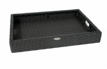 Woven Serving Tray - Image 1