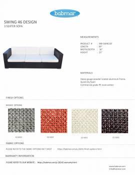 Babmar - Terrazza Sofa Set (Swing 46 Design) - Image 8