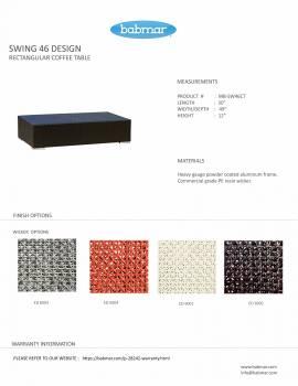 Babmar - Terrazza Sofa Set (Swing 46 Design) - Image 9